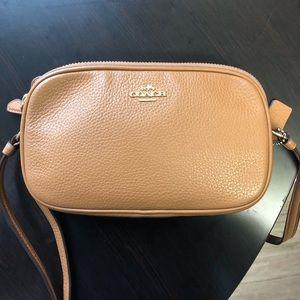 Coach clutch strap purse